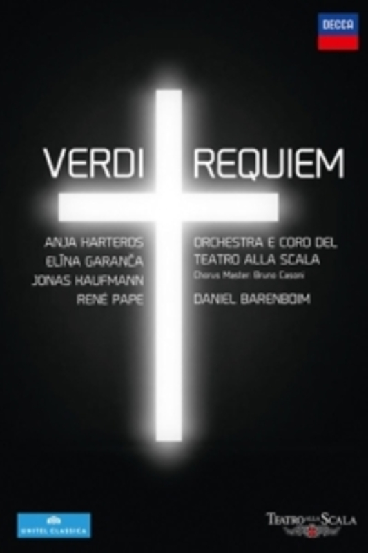 REQUIEM J.KAUFMANN/GARANCA/PAPE/BARENBOIM/OTSM G. VERDI, Blu-Ray