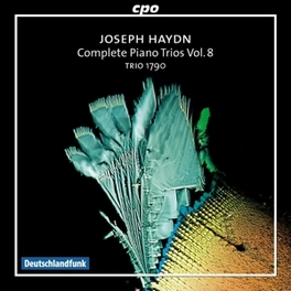 COMPLETE PIANO TRIOS.. .. VOL.8//TRIO 1790 Audio CD, J. HAYDN, CD