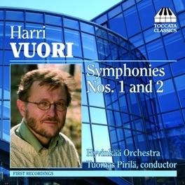 SYMPHONIES NO.1 & 2 HYVINKAA ORCHESTRA/TUOMAS PIRILA Audio CD, H. VUORI, CD