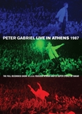 Peter Gabriel - Live In Athens 1987, (DVD)