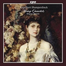 STRING QUARTETS DIOGENES QUARTETT/ANDREAS KIRPAL E. HUMPERDINCK, CD