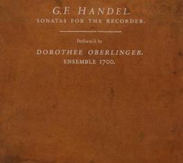SONATAS FOR THE RECORDER ENSEMBLE 1700 G.F. HANDEL, CD