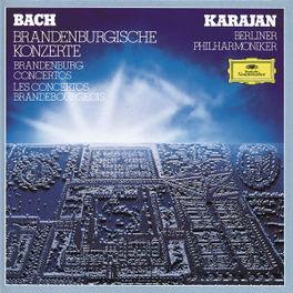 BRANDENBURGISCHE KONZERTE BP/KARAJAN Audio CD, J.S. BACH, CD