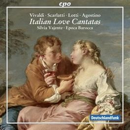 ITALIAN LOVE CANTATAS EPOCA BAROCCA SILVIA VAJENTE, CD