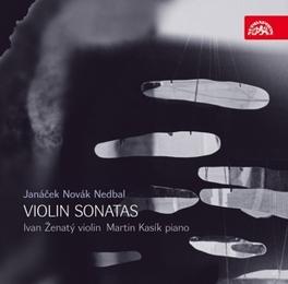 SONATAS FOR VIOLIN & PIAN NOVAK/NEDBAL/JANACEK Audio CD, ZENATY/KASIK, CD