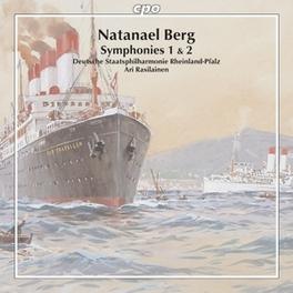 SYMPHONIES 1 & 2 DEUTSCHE STAATSPHILHARMONIE RHEINLAND-PFALZ Audio CD, N. BERG, CD