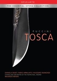 TOSCA NTSC/ALL REGIONS //TEATRO REAL CHOIR & ORCHESTRA G. PUCCINI, DVDNL