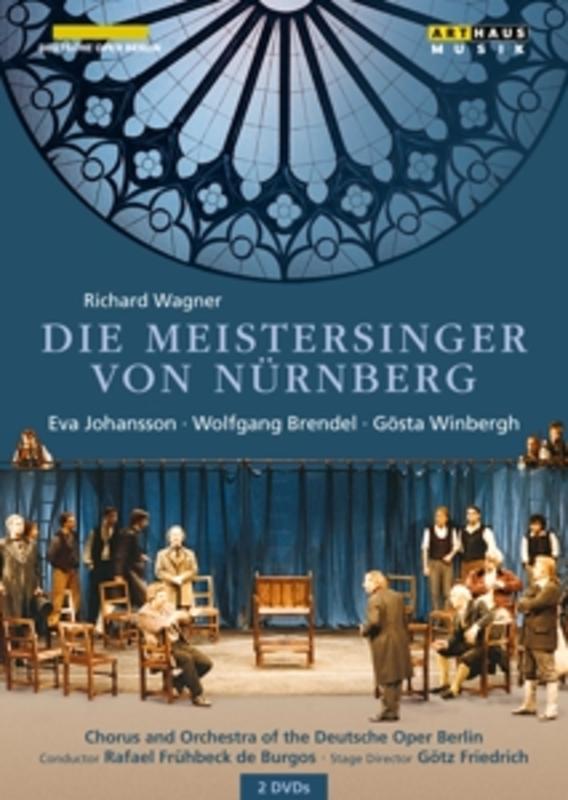 DIE MEISTERSINGER VON NUR DEUTSCHE OPER/RAFAEL FRUHBECK DE BURGOS R. WAGNER, DVDNL