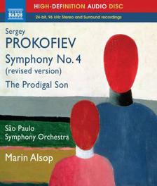 SYMPHONY NO.4 SAO PAULO S.O./MARIN ALSOP S. PROKOFIEV, BLURAY