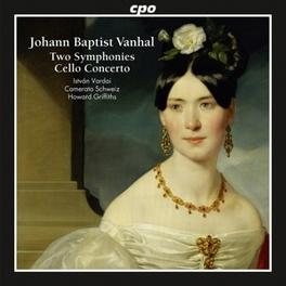 TWO SYMPHONIES CAMERATA SCHWEIZ/HOWARD GRIFFITHS J.B. VANHAL, CD