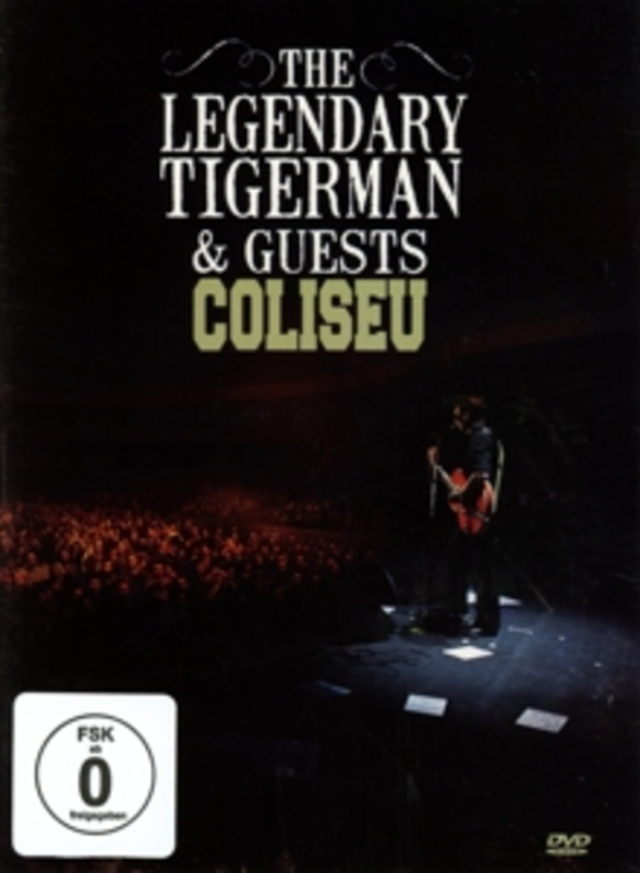 COLISEU PAL/REGION 2 LEGENDARY TIGERMAN, DVDNL