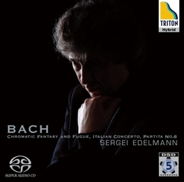SERGEI EDELMANN PLAYS BAC J.S. BACH, CD