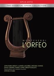 L'ORFEO TRAGICOMEDIA/CONCERTO PALATINO C. MONTEVERDI, DVD