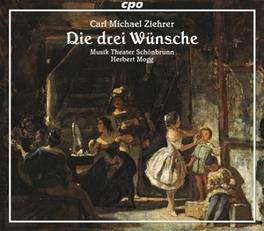 3 WISHES: OPERETTE.. .. 1.VORSPI//MOGG, HERBERT//VOGEL, VOLKER/ELLEN, DONNA/ Audio CD, C.M. ZIEHRER, CD