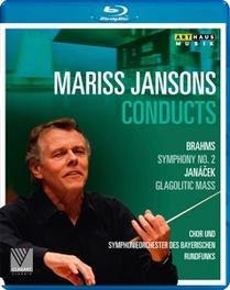 MARISS JANSONS CONDUCTS, BRAHMS-SYMPHONY 2 // JANACEK-GLAGOTIC MASS MARISS JANSONS, Blu-Ray
