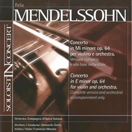 CONCERTO IN E MENDELSSOHN-BARTHOLDY, F., CD