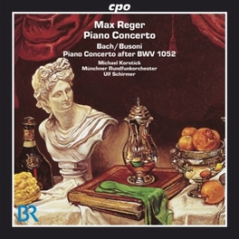CONCERTO FOR PIANO & ORCH MUNCHNER RUNDFUNKORCHESTER/MICHAEL KORSTICK Audio CD, M. REGER, CD