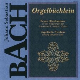 ORGELBUCHLEIN CAPELLA ST.NICOLAU/B.LACK J.S. BACH, CD