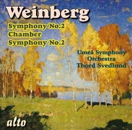 SYMPHONY NO.2/CHAMBER SYM THORD SVEDLUND Audio CD, M. WEINBERG, CD