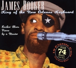 KING OF THE NEW ORLEANS.. ..KEYBOARD//LIVE IN GERMANY JAMES BOOKER, CD