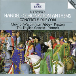 CORONATION ANTHEMS -PINNOCK/WESTMINSTER ABBEY CHOIR Audio CD, G.F. HANDEL, CD
