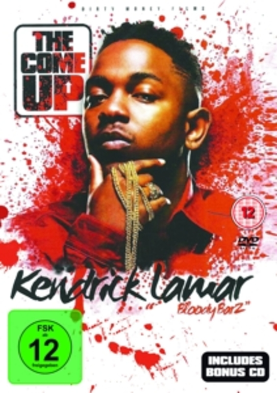 BLODDY BARZ:.. -DVD+CD- .. THE COME UP KENDRICK LAMAR, DVDNL