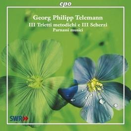 ILL TRIETI METODICHI E IL PARNASSI MUSICI Audio CD, G.P. TELEMANN, CD