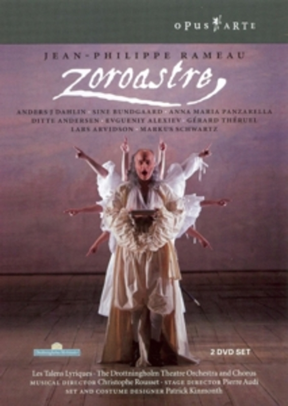 ZOROASTRE, RAMEAU, ROUSSET, C. NTSC/ALL REGIONS DVD, J.P. RAMEAU, DVDNL