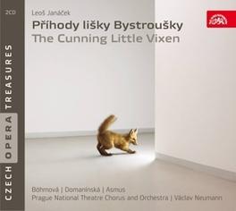 CUNNING LITTLE VIXEN NEUMANN, V./BOEHMOVA/DOMANINSKA Audio CD, L. JANACEK, CD
