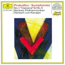 CLASSICAL SYMPHONY OP.25 ...& SYMPH. NO.5, OPUS 100/W/BERLINER PHIL., HERBERT VO Audio CD, S. PROKOFIEV, CD