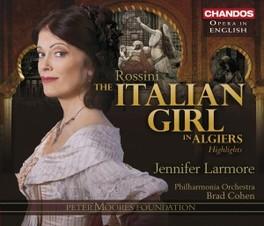 ITALIAN GIRL IN ALGIERS.. LARMORE/BANKS/OPIE Audio CD, G. ROSSINI, CD