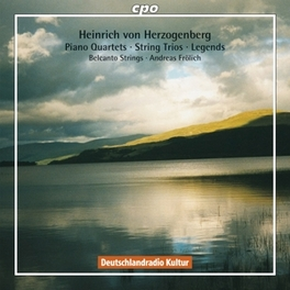 COMPLETE PIANO QUARTETS BELCANTO STRINGS/ANDREAS FROHLICH Audio CD, H. VON HERZOGENBERG, CD