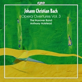 OPERA OVERTURES VOL.3 HANOVER BAND/ANTHONY HALSTEAD Audio CD, J.C. BACH, CD