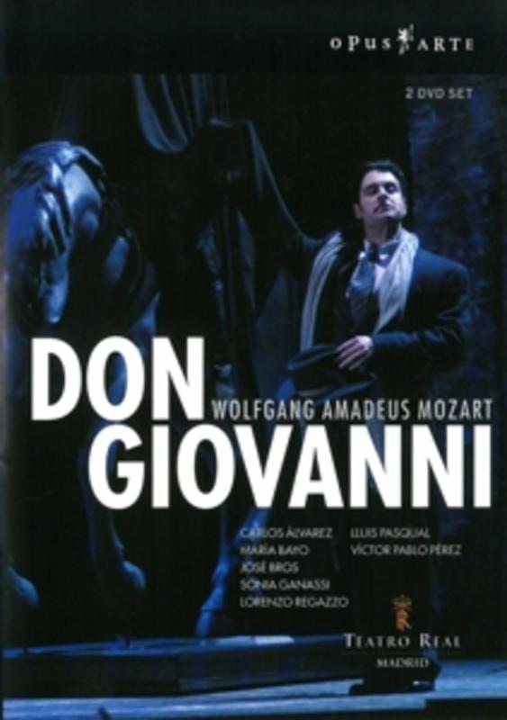 DON GIOVANNI, MOZART, PEREZ, V.P. TREATRO REAL/V.P. PEREZ DVD, W.A. MOZART, DVDNL
