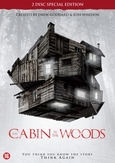 Cabin in the woods, (DVD)