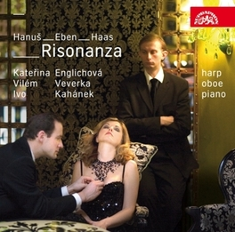RISONANZA - CZECH MUSIC.. .. FOR OBOE//ENGLICHOVA/VEVERKA/KAHANEK Audio CD, HANUS/EBEN/HAAS, CD