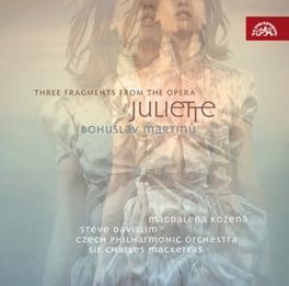THREE FRAGMENTS FROM JULI CHARLES MACKERRAS Audio CD, B. MARTINU, CD