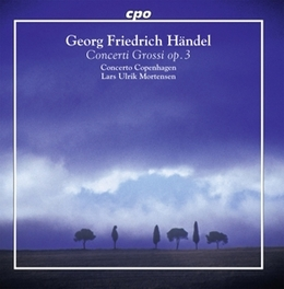 CONCERTO GROSSI OP.3 CONCERTO COPENHAGEN/LARS ULRIK MORTENSEN G.F. HANDEL, CD