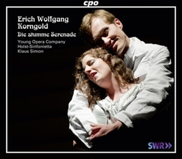 DIE STUMME SERENADE YOUNG OPER COMPANY/KLAUS SIMON E.W. KORNGOLD, CD