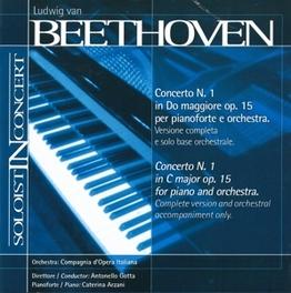 CONCERTO NO.1 COMPAGNIA D'OPERA ITALIANA // A. GOTTA L. VAN BEETHOVEN, CD