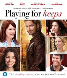 Playing for keeps, (Blu-Ray) ALL REGIONS // W/ GERALD BUTLER, JESSICA BIEL MOVIE, BLURAY