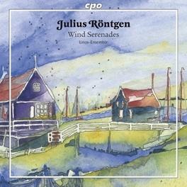 WIND SERENADES LINOS ENSEMBLE J. RONTGEN, CD