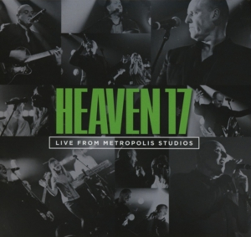 LIVE FROM.. -DVD+CD- .. METROPOLIS STUDIOS, NTSC/REGION 0, REC. JAN. 2012 HEAVEN 17, DVDNL