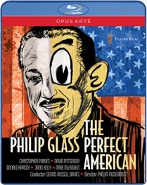 PERFECT AMERICAN CHRISTOPHER PURVES PHILIP GLASS, Blu-Ray