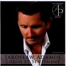 LOGOS ET SENTIMENT VARIOUS J. ADAMUS, CD