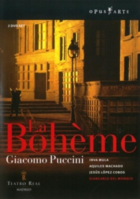 LA BOHEME, PUCCINI, GIACOMO, LOPEZ COBOS, J. NTSC/MADRID S.O./J.LOPEZ COBOS DVD, G. PUCCINI, DVD