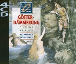 GOTTERDAMMERUNG/RING DES CHORUS & ORCH. OF BAYREUTH FESTIVAL/KRAUSS Audio CD, R. WAGNER, CD