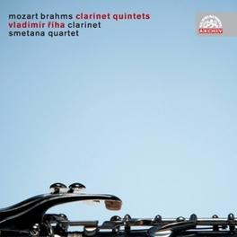 CLARINET QUINTETS SMETANA QUARTET Audio CD, MOZART/BRAHMS, CD