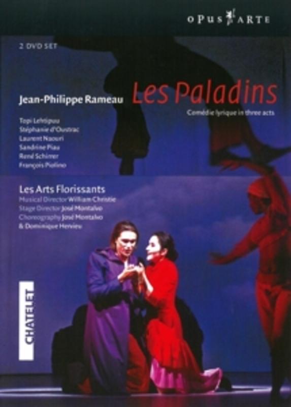LES PALADINS, RAMEAU, CHRISTIE, W. NTSC/ALL REGIONS // LES ARTS FLORISSANTS/W.CHRISTIE DVD, J.P. RAMEAU, DVDNL