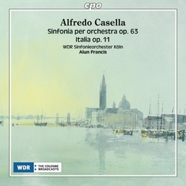 SYMPHONY NO3: SINFONIA.. .. PER ORCHESTR//FRANCIS, ALUN//WDR SINFONIEORCHESTER K Audio CD, A. CASELLA, CD